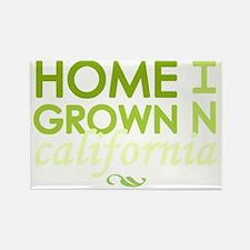 Home grown california light Rectangle Magnet