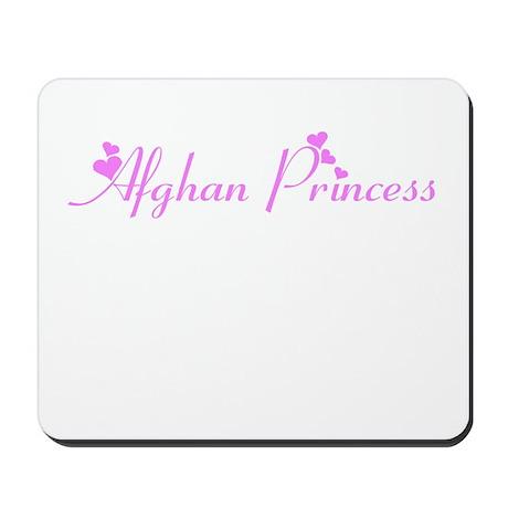 AFGHAN PRINCESS Mousepad