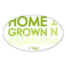 Home grown oklahoma light Decal