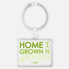 Home grown georgia light Landscape Keychain