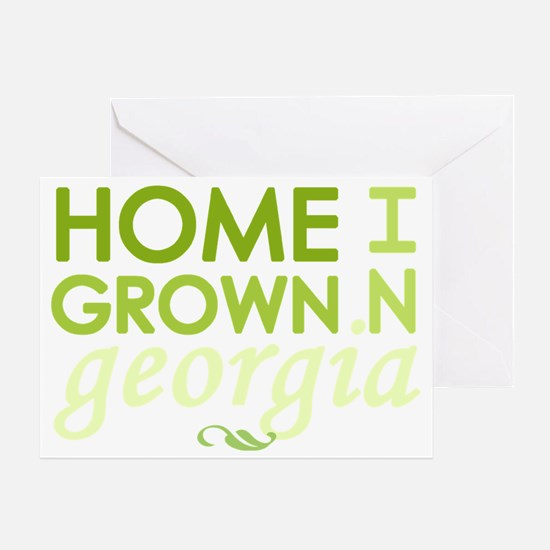 Home grown georgia light Greeting Card