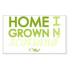 Home grown scotland light Decal