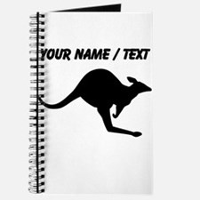 Custom Black Kangaroo Journal