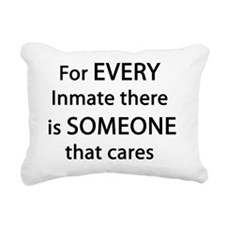 For Every Inmate Rectangular Canvas Pillow