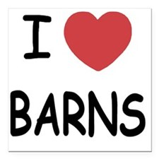 "BARNS Square Car Magnet 3"" x 3"""