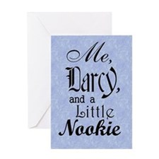 nook_darcy_nookie Greeting Card