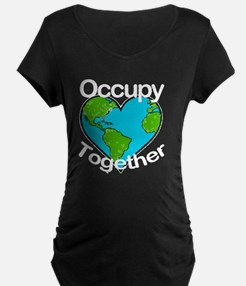 OccupyTogether-black T-Shirt