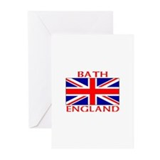 Cute Union jack flags Greeting Cards (Pk of 10)