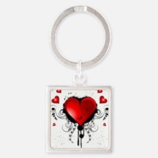 Beautiful heart Keychains
