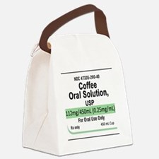 coffee-ceramic Canvas Lunch Bag