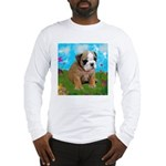 Puppy Dream Meadow Long Sleeve T-Shirt