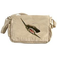 Flying Tigers Messenger Bag