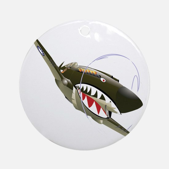 Flying Tigers Round Ornament