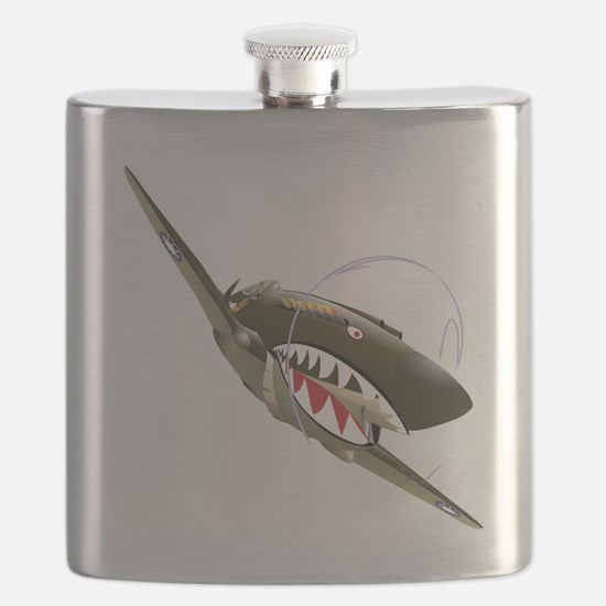 Flying Tigers Flask