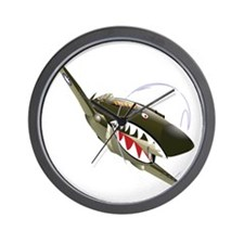 Flying Tigers Wall Clock