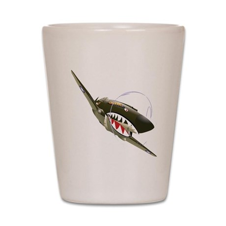 Flying Tigers Shot Glass