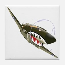 Flying Tigers Tile Coaster