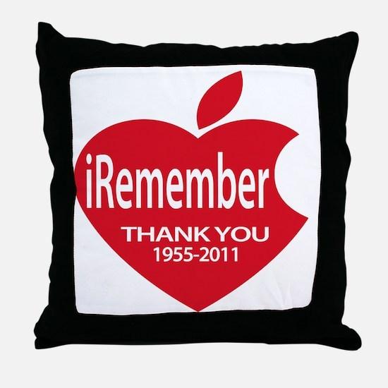 iremember heart Throw Pillow