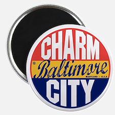 Baltimore Vintage Label B Magnet