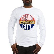 Baltimore Vintage Label B Long Sleeve T-Shirt