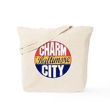 Baltimore Vintage Label B Tote Bag