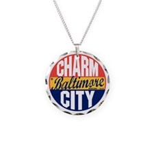 Baltimore Vintage Label B Necklace