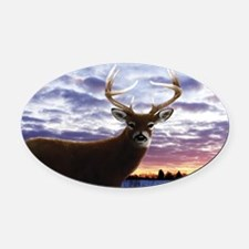 beech_bagFRNT Oval Car Magnet