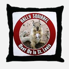 squirrel_st-louis_01 Throw Pillow