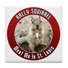squirrel_st-louis_01 Tile Coaster