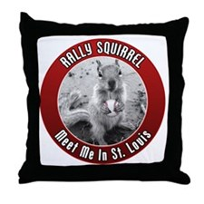 squirrel_st-louis_02 Throw Pillow