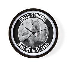 squirrel_st-louis_03_smaller Wall Clock
