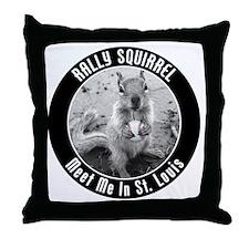 squirrel_st-louis_03_smaller Throw Pillow