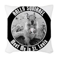 squirrel_st-louis_03 Woven Throw Pillow