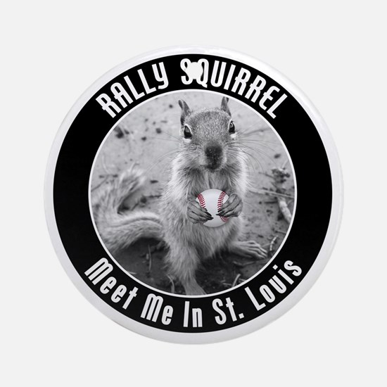 squirrel_st-louis_03 Round Ornament