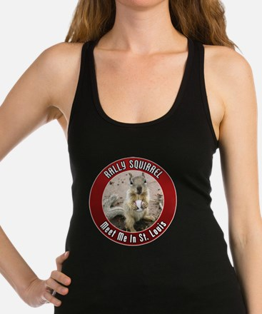 squirrel_st-louis_smaller Racerback Tank Top