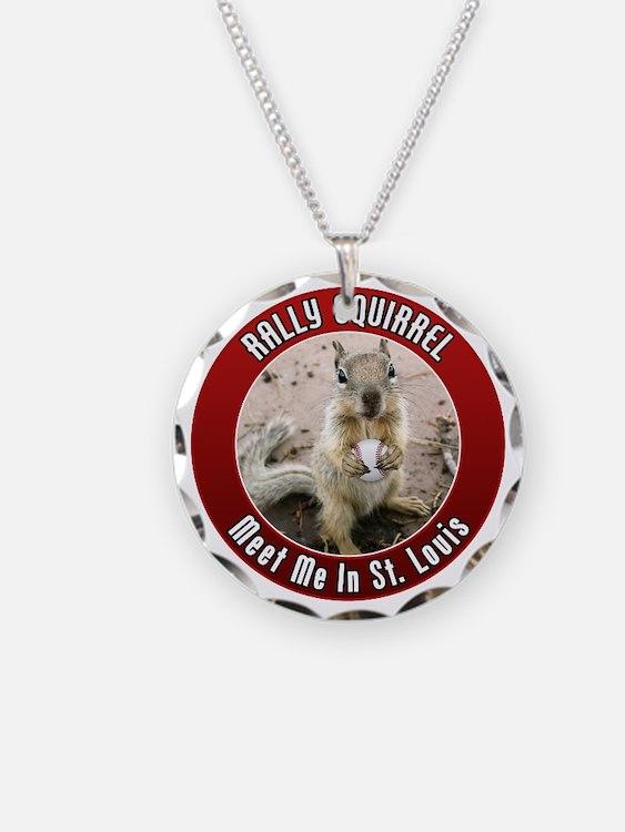 squirrel_st-louis_smaller Necklace
