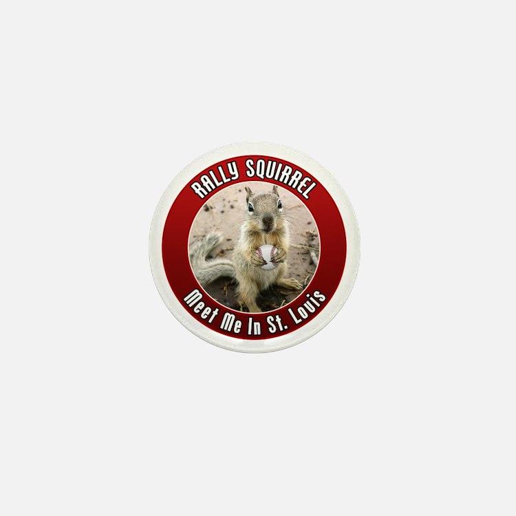 squirrel_st-louis_smaller Mini Button