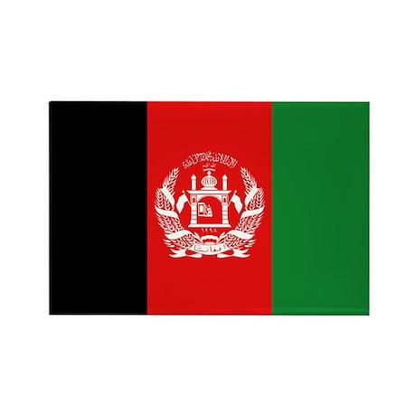 AFGHANISTAN FLAG Rectangle Magnet (100 pack)