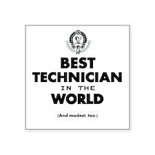 The Best in the World – Technician Sticker