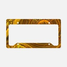 Interior of Viennese Concert  License Plate Holder