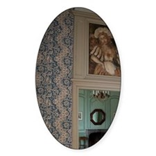 Interior of the Chateau of Chataune Decal