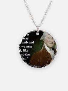 george-washington-freedom-of Necklace