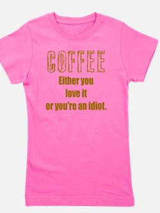 coffee lover Girl's Tee