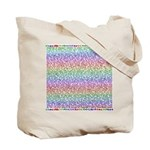 auctorial insanities, bipolar tote bag