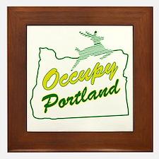 Occupy Portland Framed Tile
