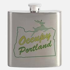 Occupy Portland Flask