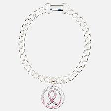 Done 18 D Charm Bracelet, One Charm