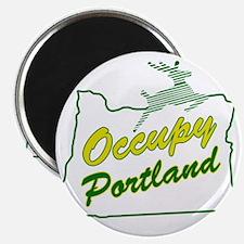 Occupy Portland Magnet