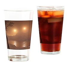 DesertAdvancingMousepad Drinking Glass