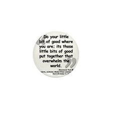 Tutu Good Quote Mini Button